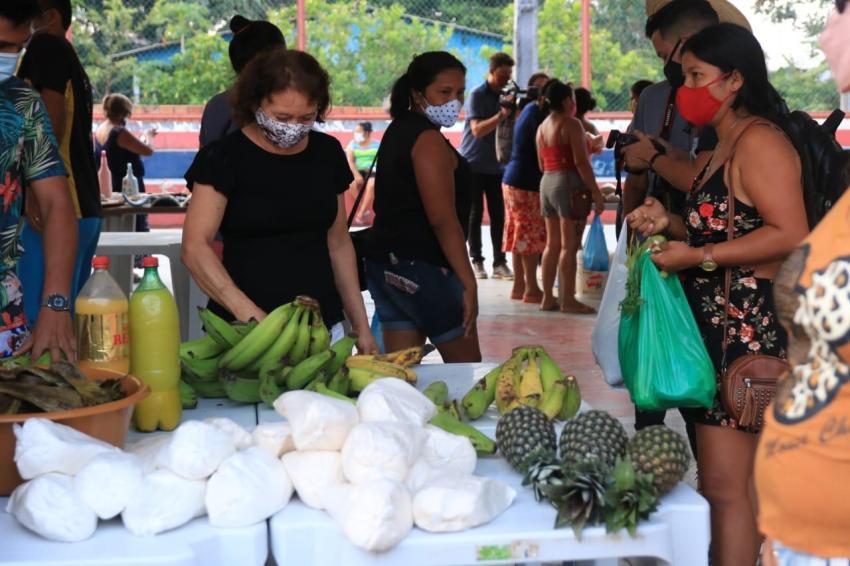 Produtores Rurais de Barreirinha participam de mais uma edição da Feira Livre do Produtor / Foto : Divulgação