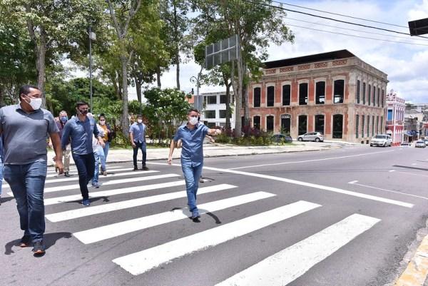 David Almeida Centro Histórico de Manaus ( / Fotos - Dhyeizo Lemos / Semcom