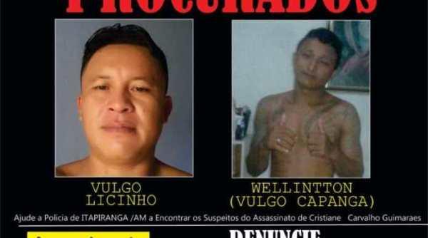 Os suspeitos seguem foragidos | Foto: Reprodução/Internet