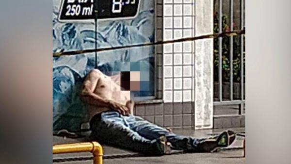 Jovem morre sem ajuda e abandonado em posto de combustível / Foto : Divulgação