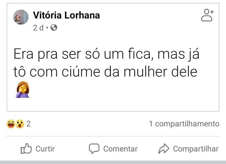 Lorhana Vicente da Silva / Reprodução Facebook