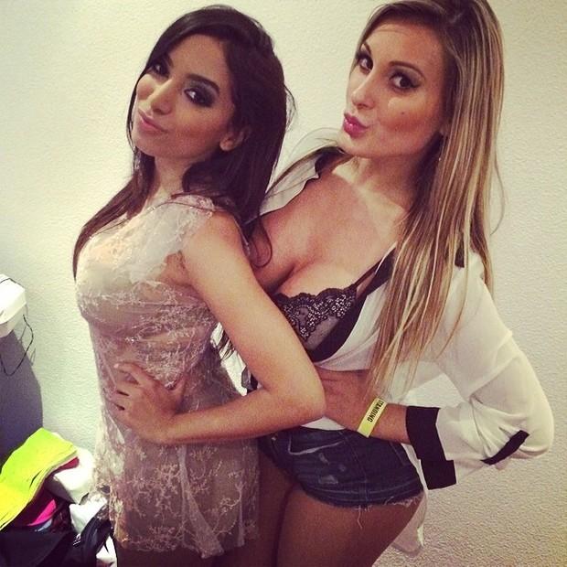 Anitta e Andressa Urach