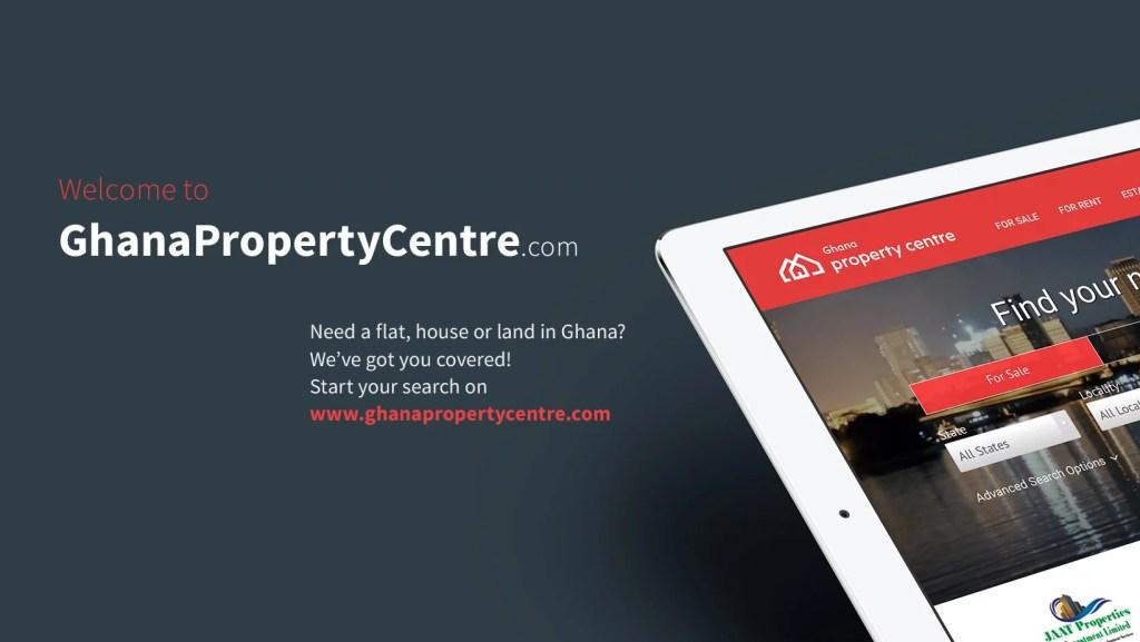 Ghana Property centre online real estate website