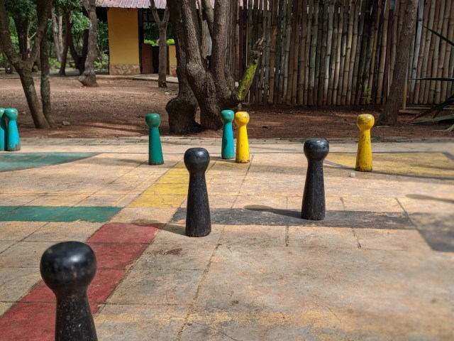 Ludo game at Rufus Green Parks