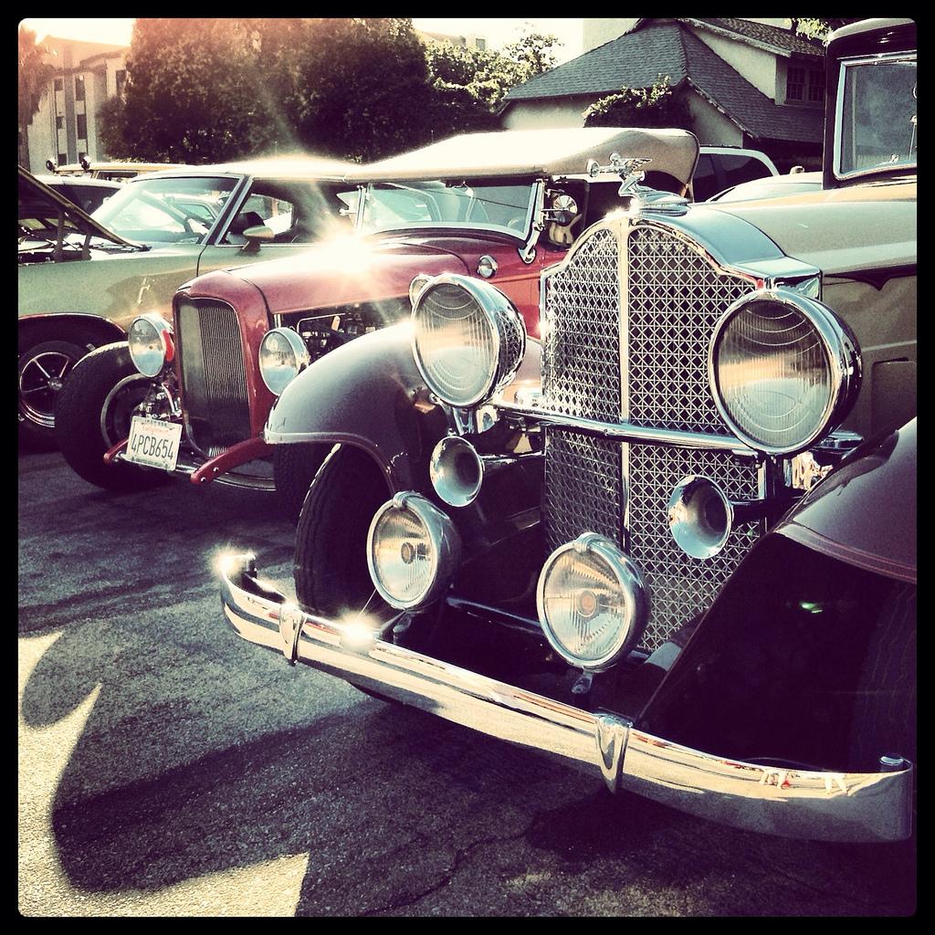 Classic Car Night At Bob's Big Boy
