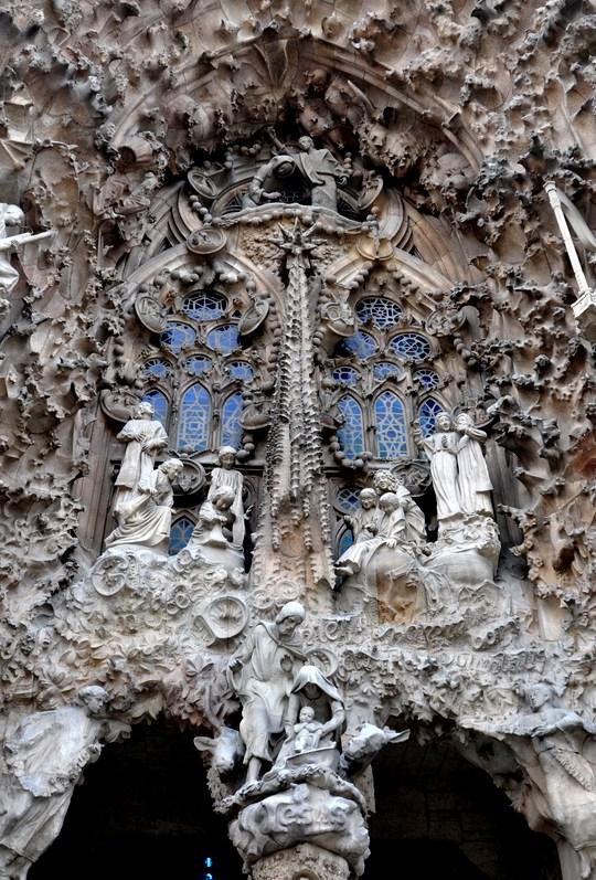 The Sagrada Familia Towers - Nativity Facade