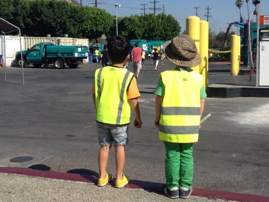 LA Sanitation Dept Open House