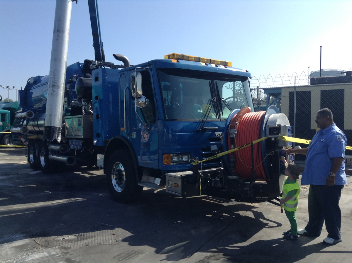 Another New Addition Last Year Was The Sewer Truck!