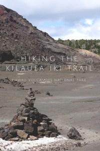 Hiking the Kilauea Iki Trail on Hawaii's Big Island will be the best hike you do there!