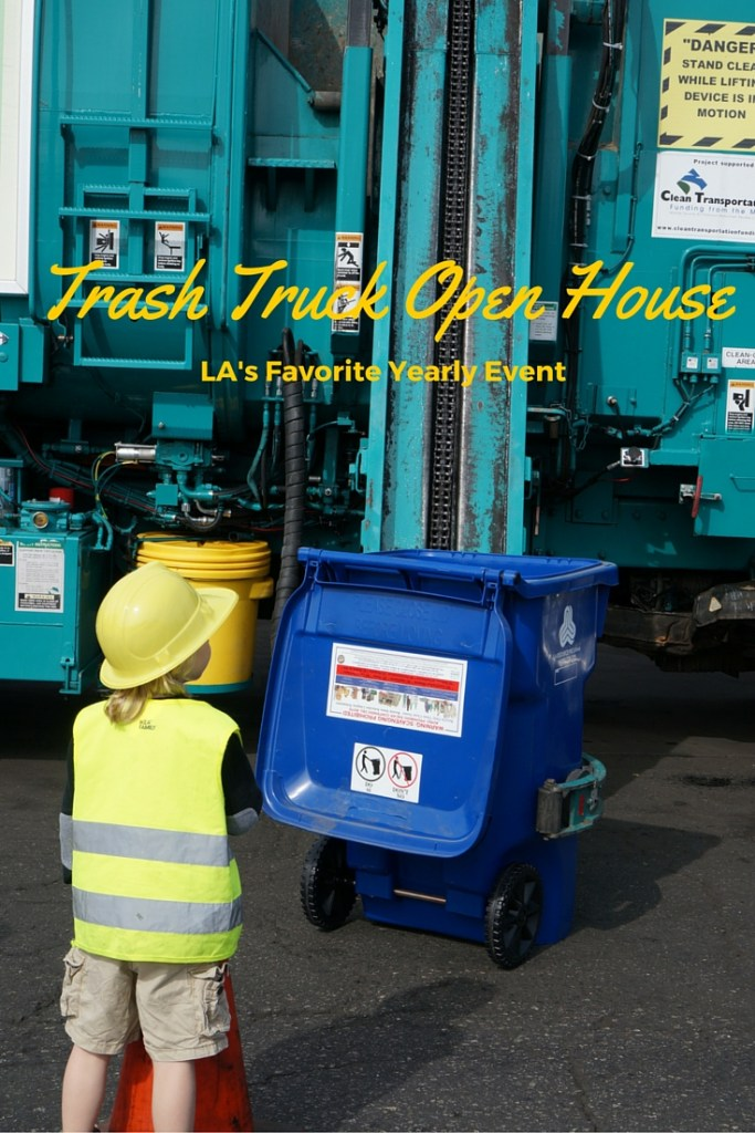 The Yearly Trash Truck Open House in Los Angeles is one of the best family friendly events of the year! Mark your calendars!