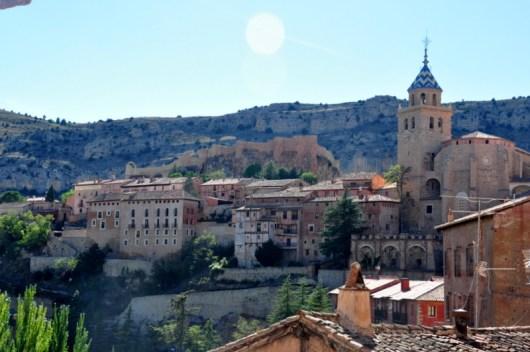 Albarracin, Madrid to Barcelona