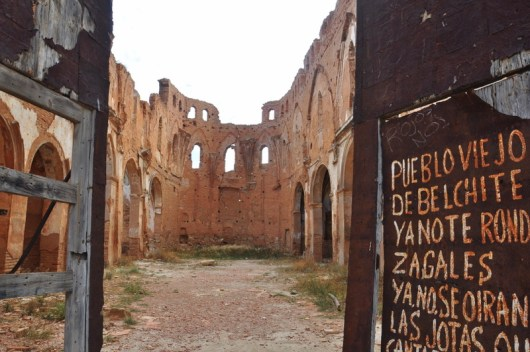 Belchite, Madrid to Barcelona