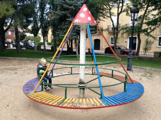 Spanish Playground, Madrid to Barcelona