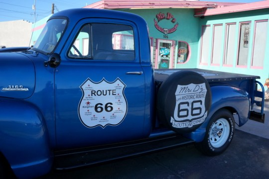 Mr. D'z Route 66 Diner, Kingman AZ