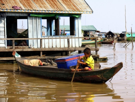 Cambodia in Photos: Floating Village