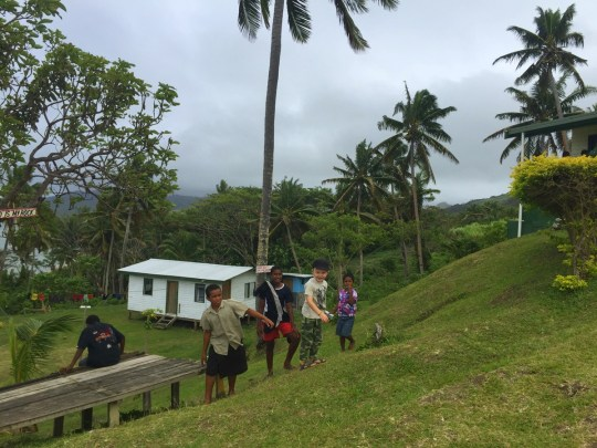 Koro Sun Resort & Rainforest Spa Hotel Review: Fijian school visit