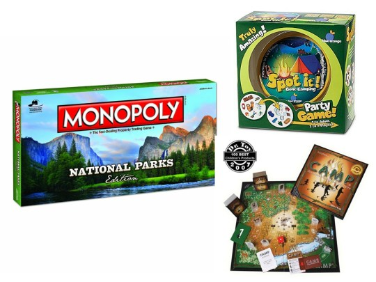 Outdoor themed games - Gift guide for outdoor kids