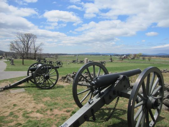 Best National Parks for Families: Gettysburg