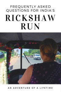 Frequently asked questions on India's most famous road trip adventure, the Rickshaw Run.