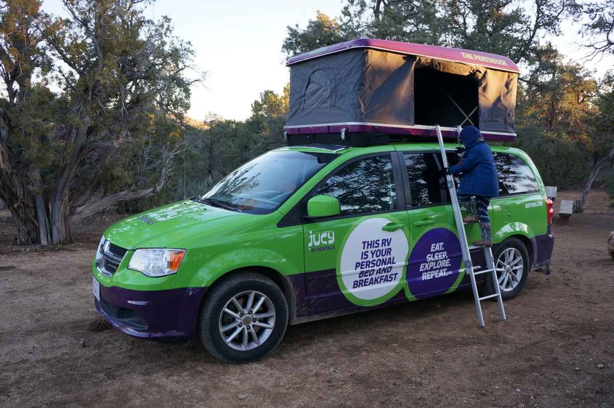 jucy: the campervan for non-campers - no back home