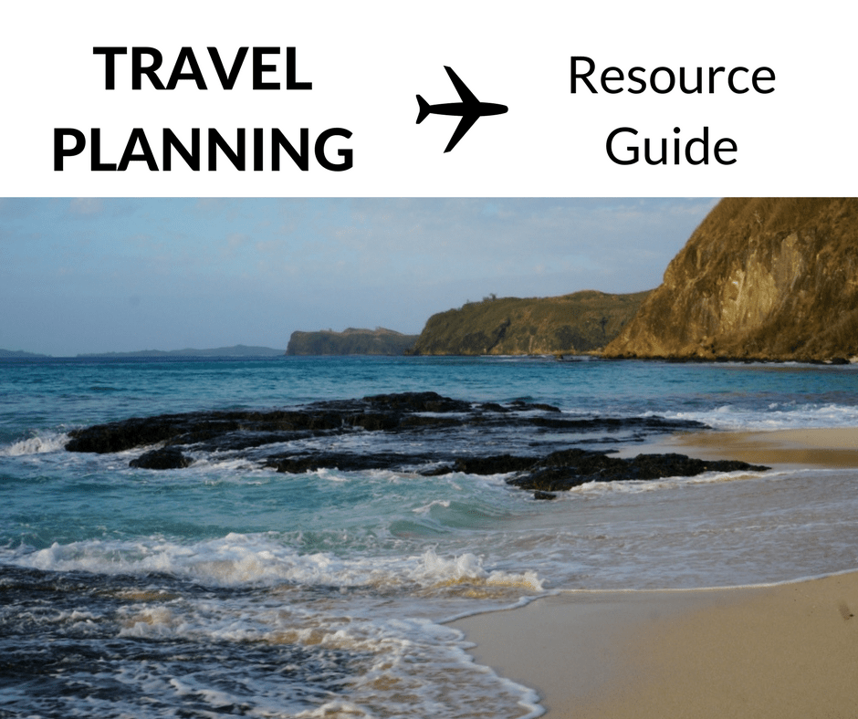 Travel Planning: A Resource Guide
