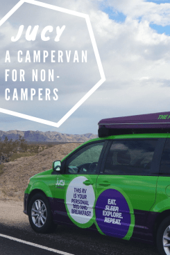 JUCY:The Campervan for Non-Campers