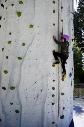 Ice Climbing at Skypark at Santa's Village