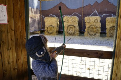 Archery at Skypark at Santa's Village