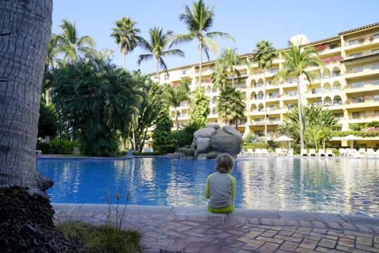 Pool at Vela Vallarta