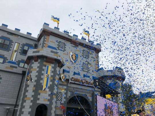 LEGOLAND Castle Hotel California Grand Opening celebration