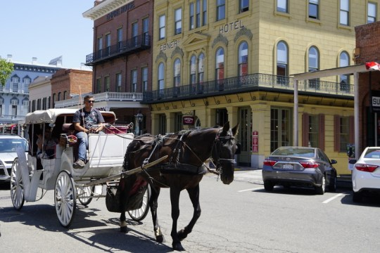 Old town Sacramento is filled with fun things to do with kids in Sacramento