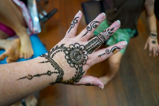 You must get Mehendi done in Little India in Singapore when visiting with kids