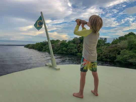 Amazon cruise with kids