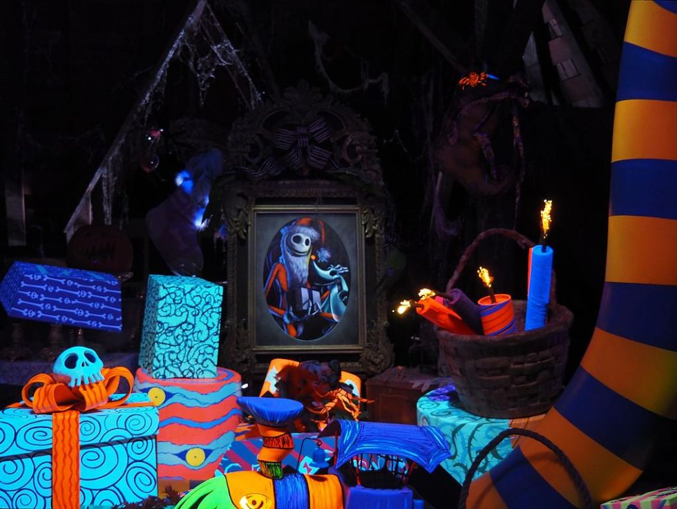 Celebrating Halloween at Disneyland