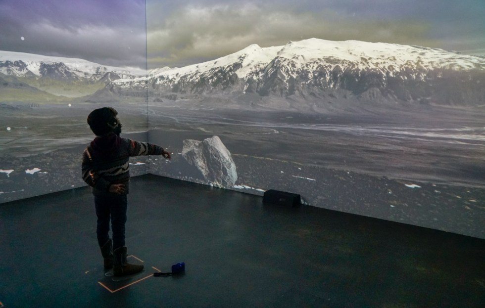 Visiting the LAVA Center is a must do in Iceland with Kids