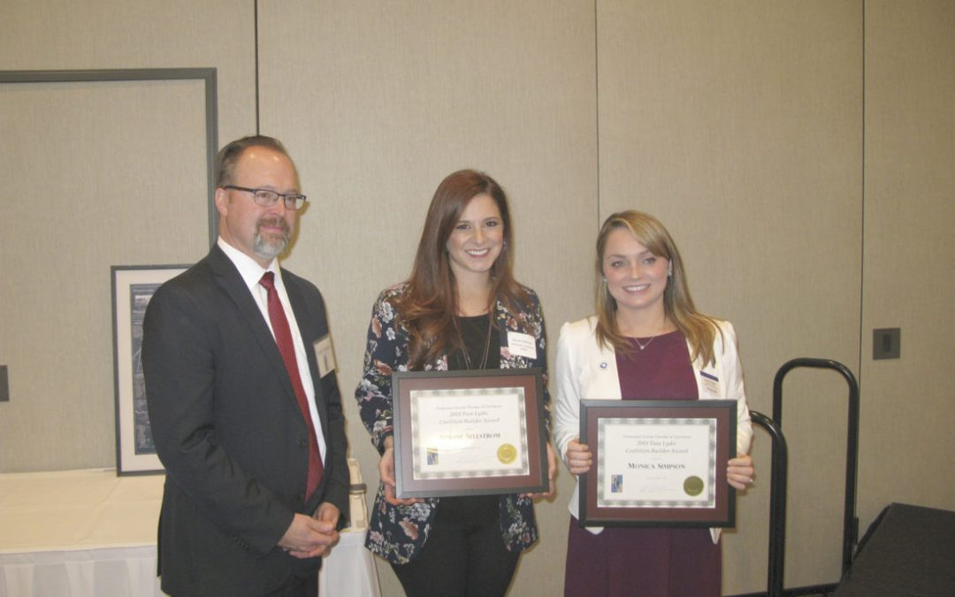 Young entrepreneurs honored at annual Chamber of Commerce meeting