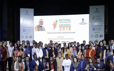 33 young entrepreneurs receive awards
