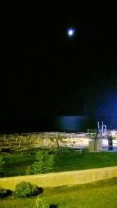 Strandblick bei Nacht