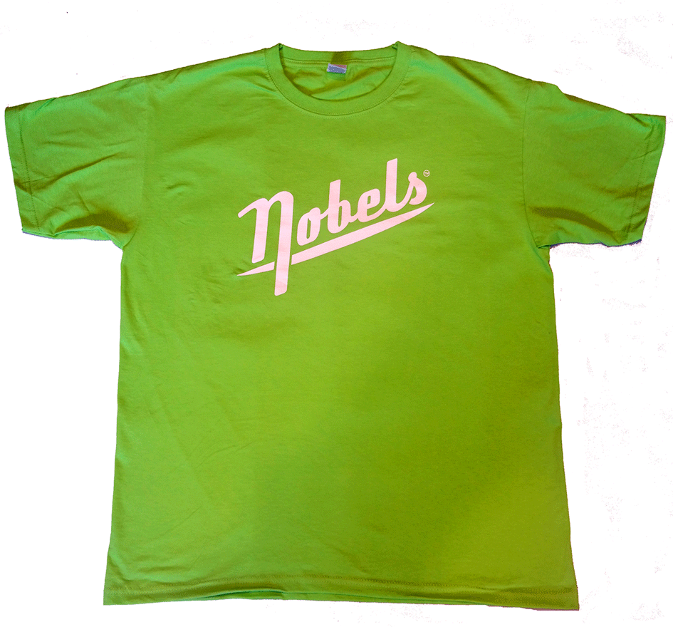 Nobels T-Shirt LOGO Green 1