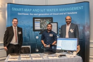 Nobel Systems team members at World Water Tech 2019