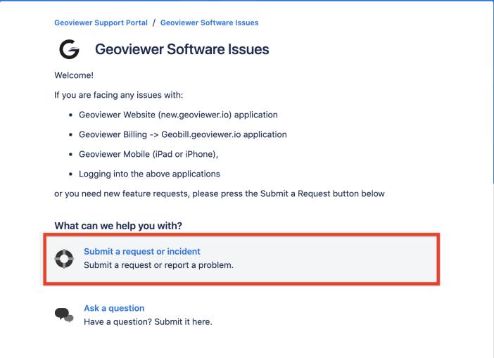 GeoViewer Customer Feedback Desktop step 3
