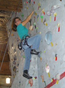 Rock climbing on Thanksgiving day at age 46.