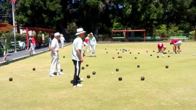 Photo of Palo Alto's Lawn Bowling Green