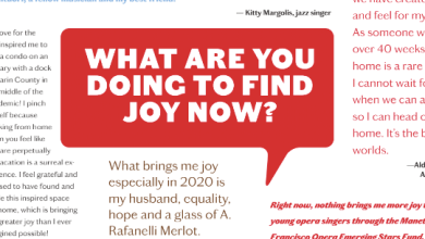 Photo of Not Afraid to Ask: What Are You Doing to Find Joy Now?