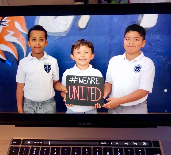 MDA students are #united in their education