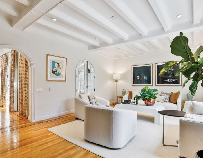 a 4-bedroom/4-bath in Pacific Heights (listed by Helena Zaludova)
