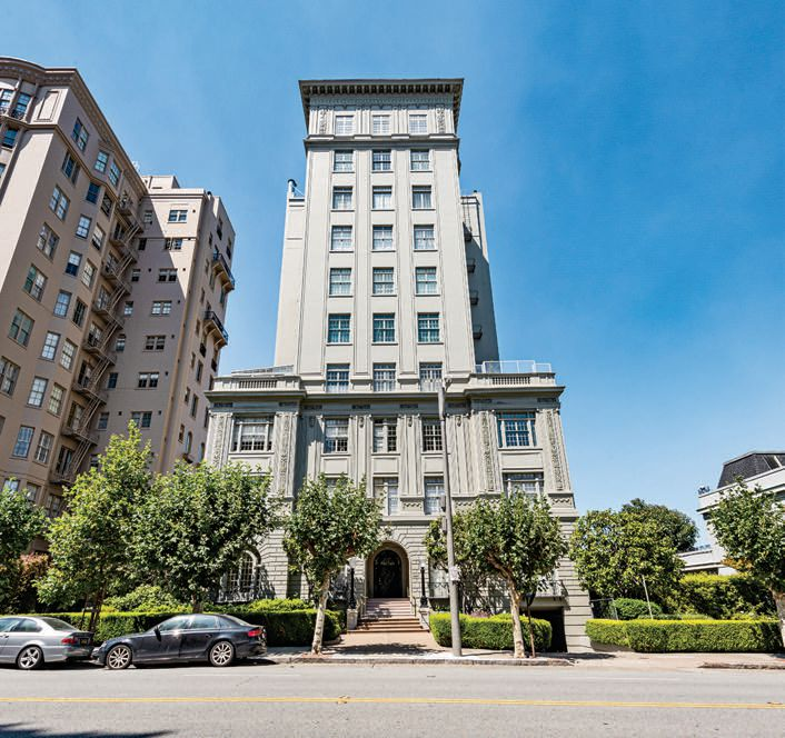 1940 Broadway, in Pacific Heights (recently sold by Joel Goodrich)