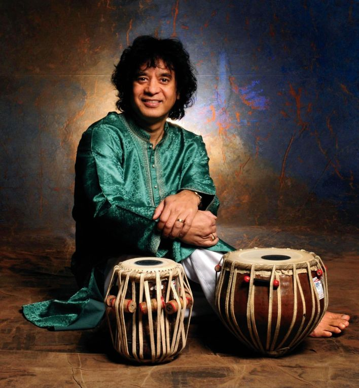 Zakir Hussain is among the musicians kicking off the return of live performances at Frost Amphitheater.