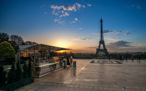 A image extracted from a Timelapse sequence taken in Paris