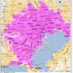 WiMAX2+サービスエリアが急拡大!東京はほぼサービスエリア化